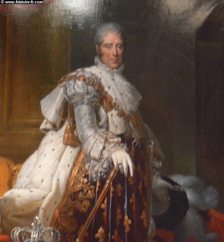 Le ru00e8gne de Charles X (1824 u00e0 1830)