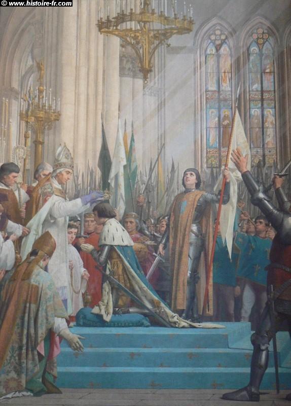 Mais comment Notre-Dame de Paris a-t-elle pu brûler ? - Page 7 Jeanne_arc_sacre_charles_VII_pantheon