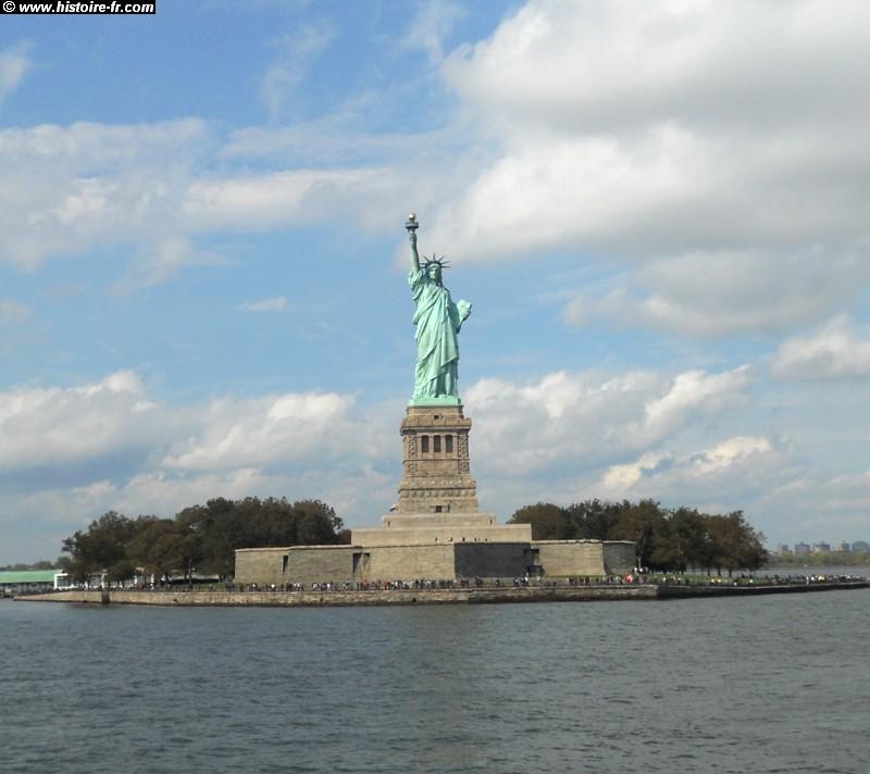 La vie de bartholdi cr ateur de la statue dela libert for Createur statue de la liberte